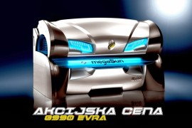 megaSun 5800 ultra power - Ležeći-9600 eura